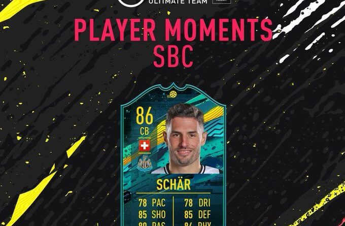 FIFA 20: Schar Player Moments SBC