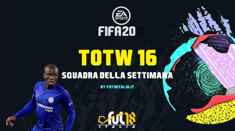 FIFA 20: Team of the Week 16