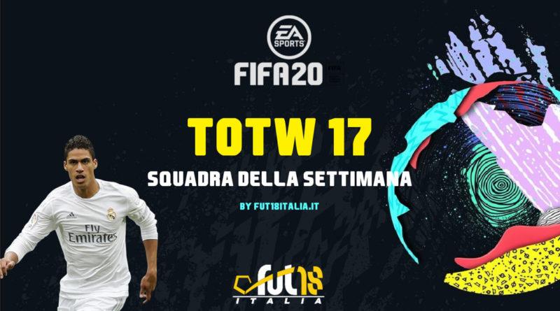 FIFA 20: Team of the Week 17