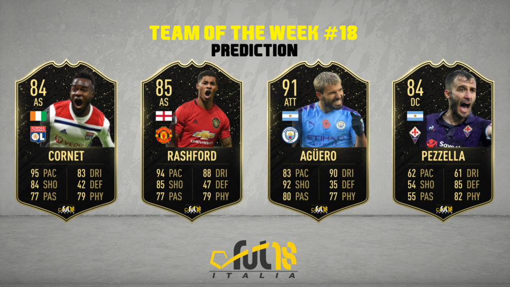 FIFA 20: TOTW 18 prediction