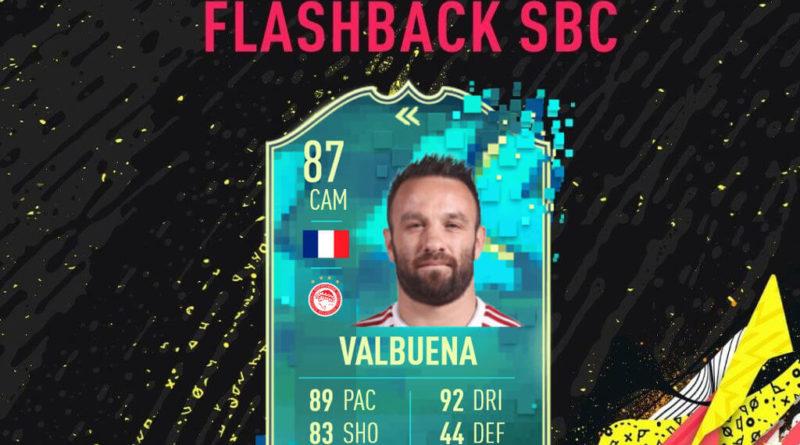FIFA 20: Valbuena flashback SBC
