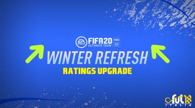 FIFA 20: Winter Refresh, ratings upgrade