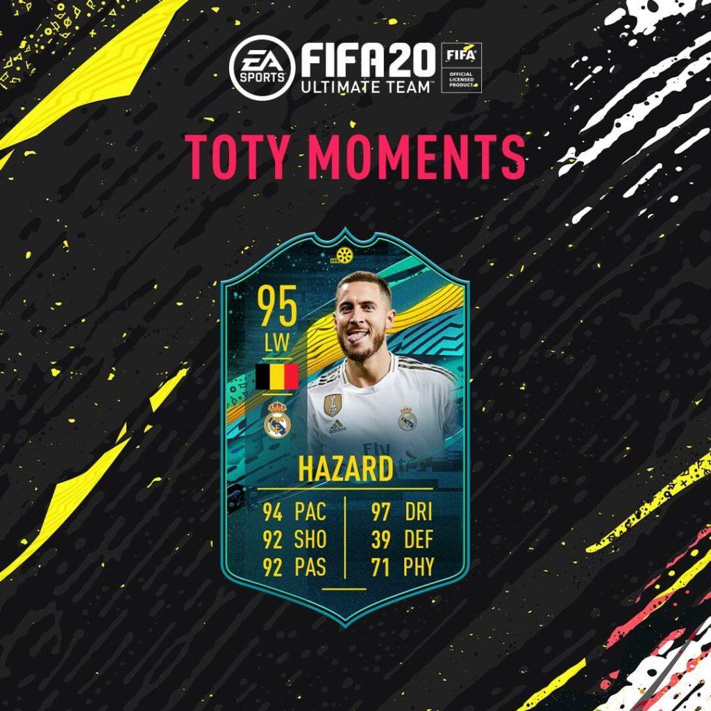 FIFA 20: Eden Hazard 95 TOTY Moments