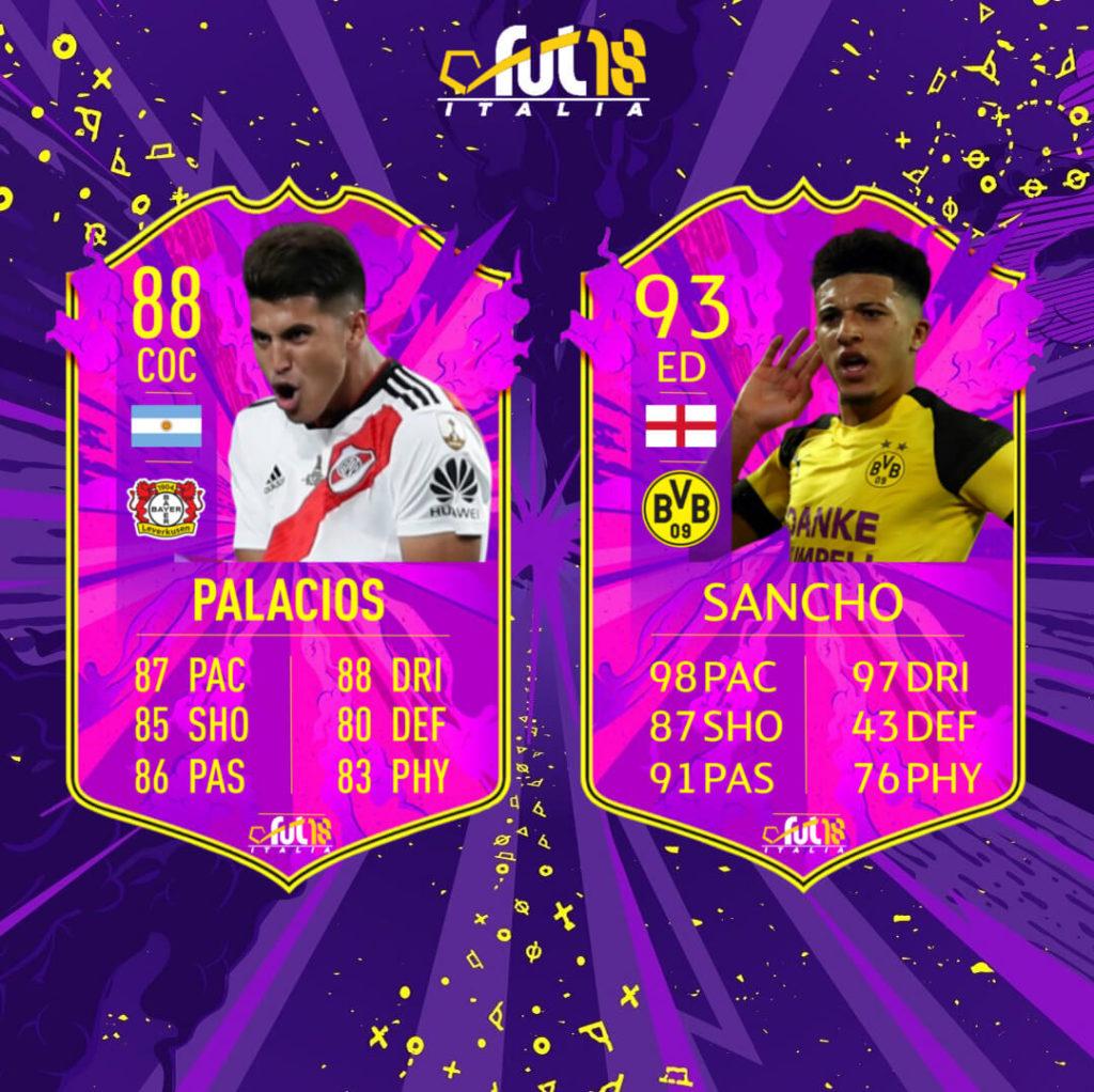 FIFA 20: Palacios e Sancho Future Stars prediction