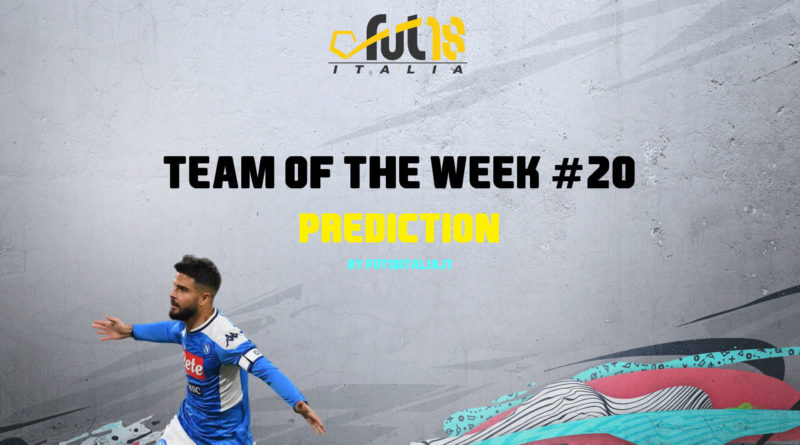 FIFA 20: Team of the Week 20 prediction