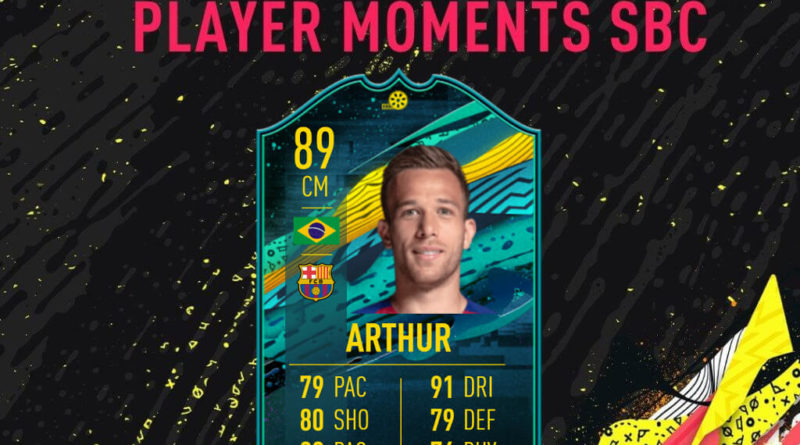 FIFA 20: Arthur Player Moments SBC