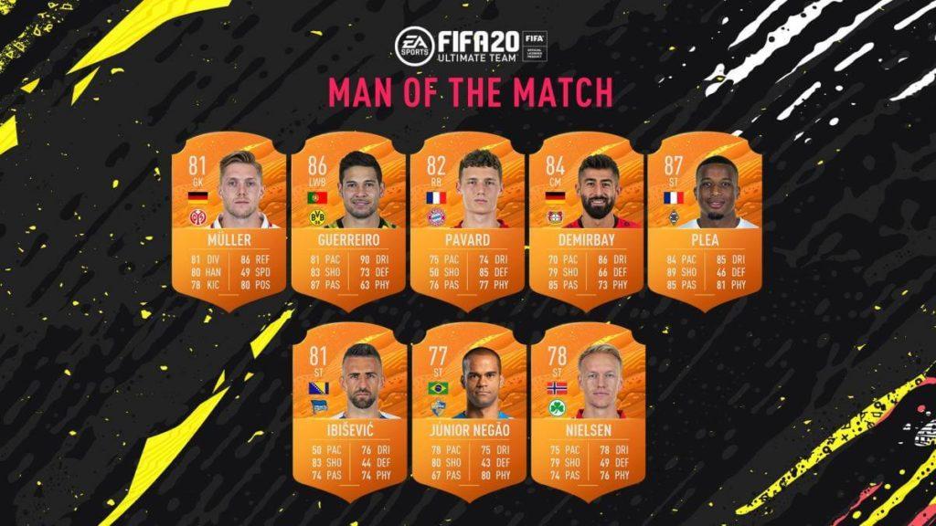 FIFA 20: Bundesliga MOTM del 20 maggio