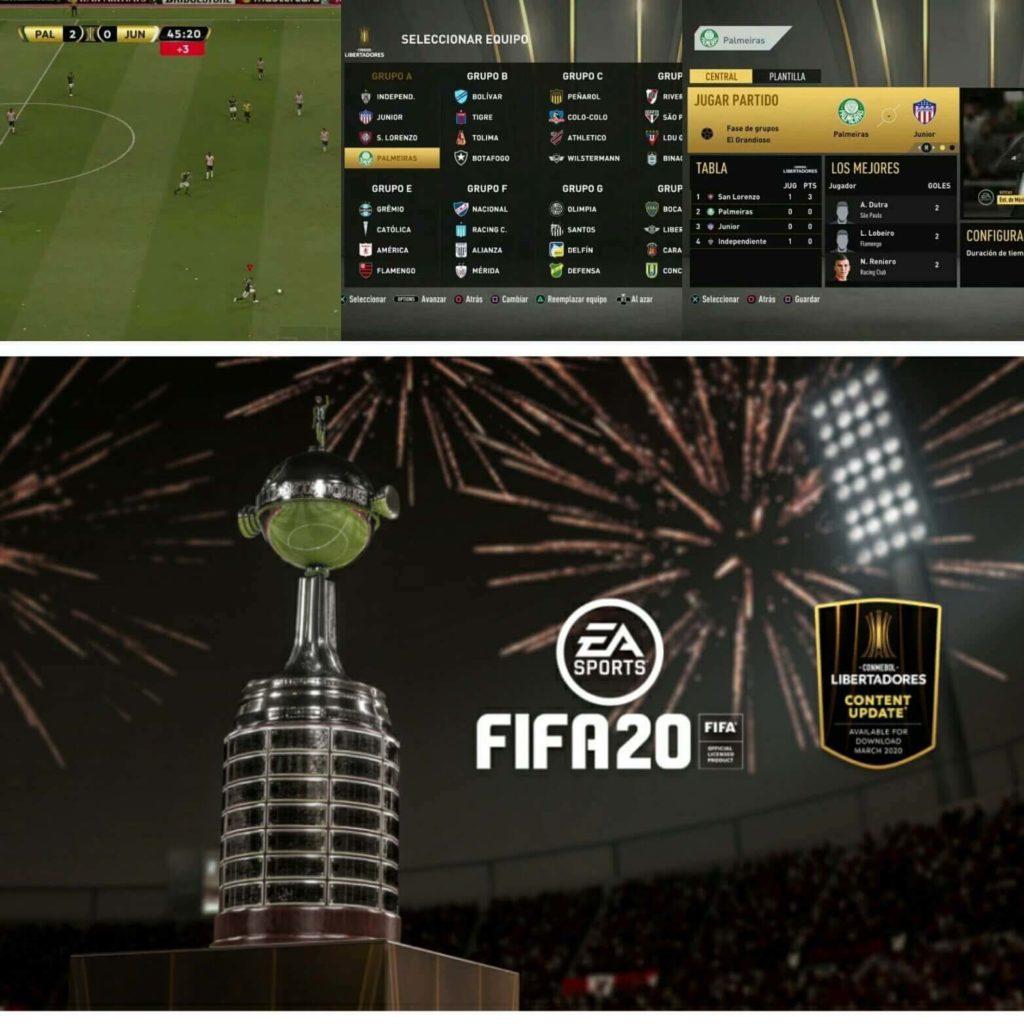 FIFA 20: screen della Copa Libertadores in FIFA 20