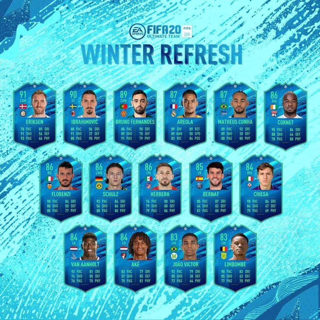 FIFA 20: Winter Refresh team