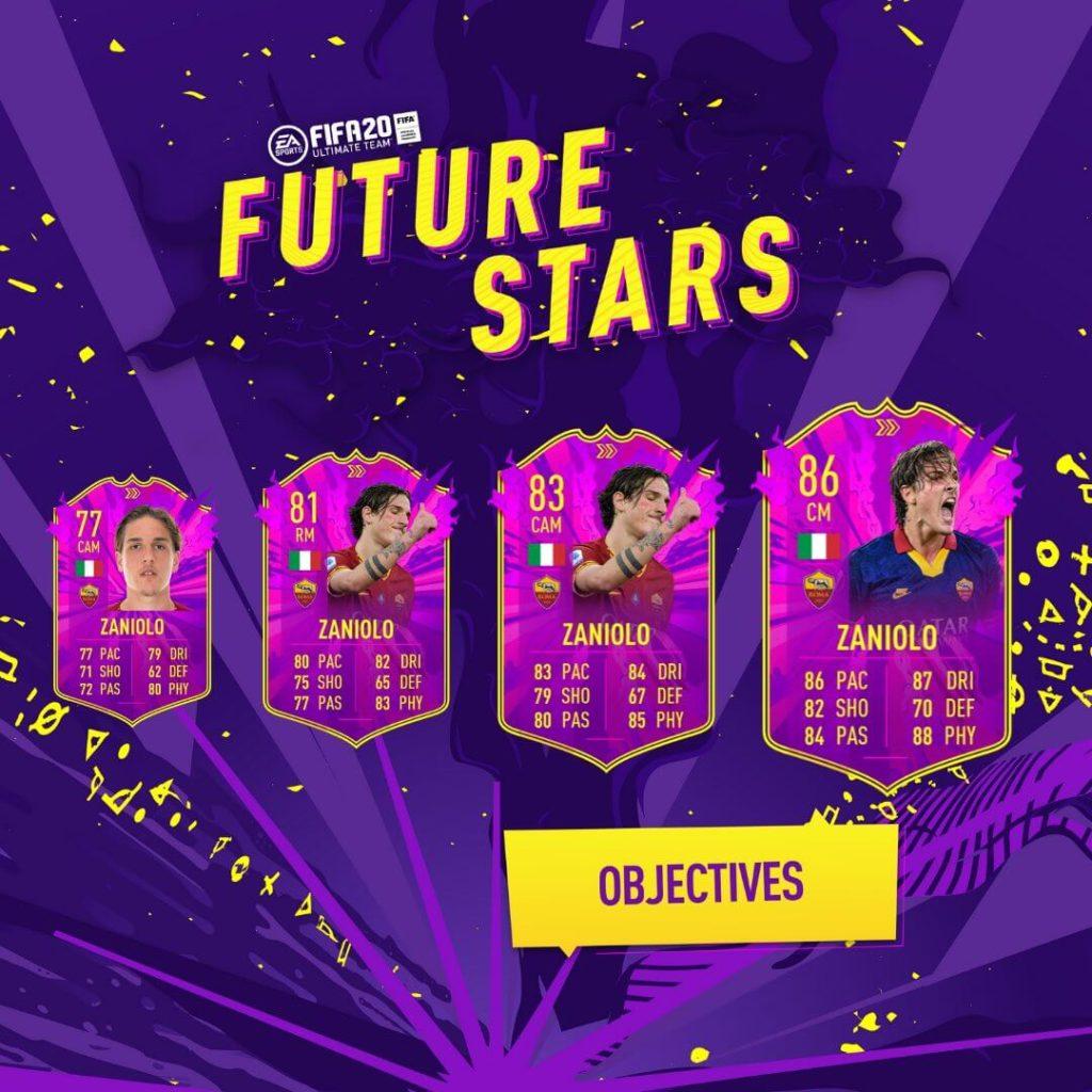 FIFA 20: Zaniolo Future Stars