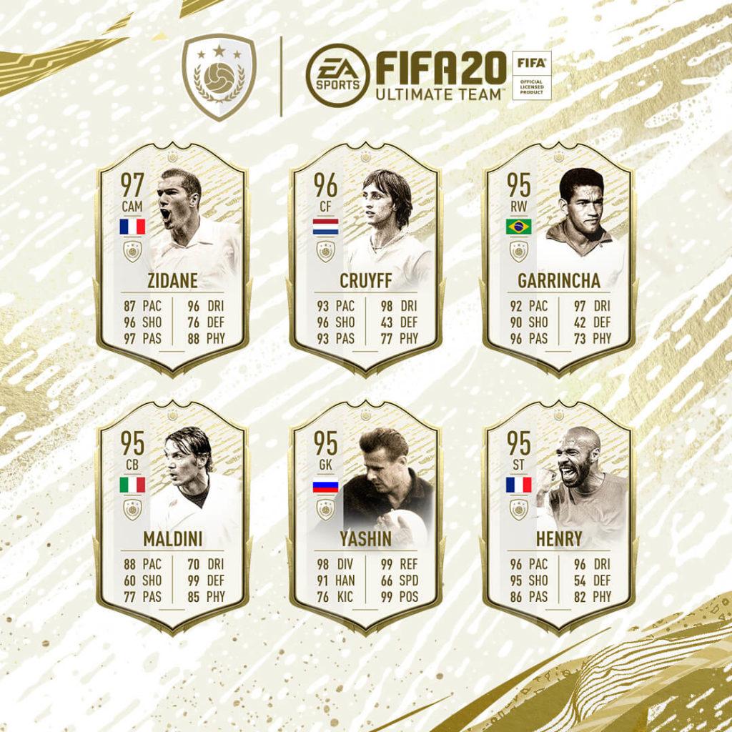 FIFA 20: Icon Prime Moments