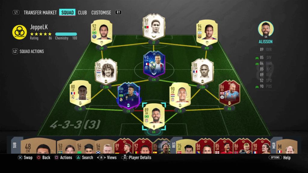 FIFA 20: JeppeLK team