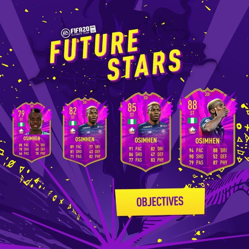 FIFA 20: Osimhen Future Stars