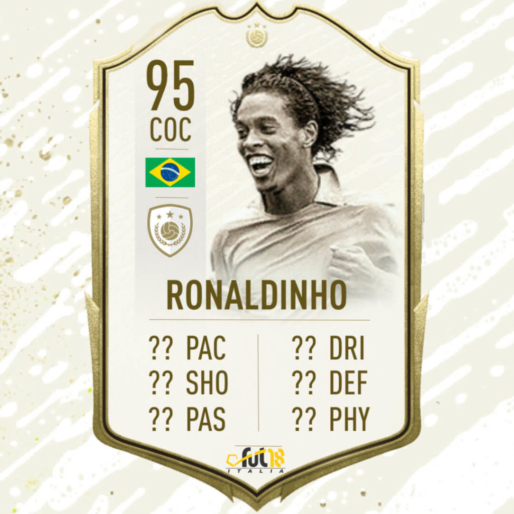 FIFA 20: Ronaldinho Icon Prime Moments