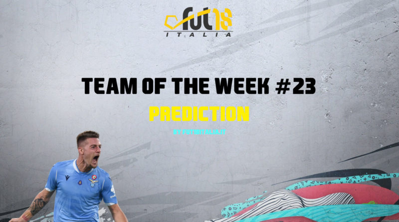 FIFA 20: Team of the Week 23 prediction