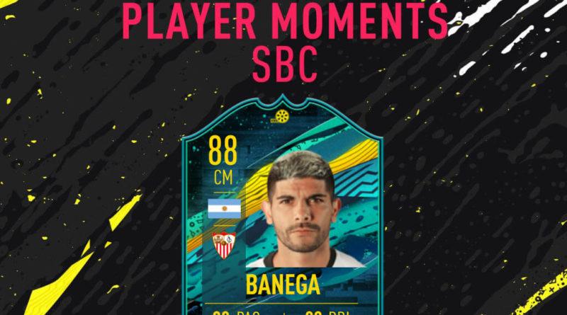 FIFA 20: Banega player moments SBC