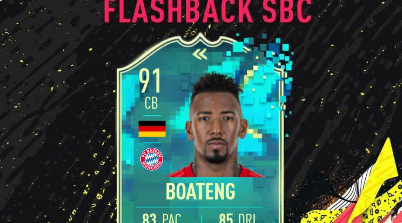 FIFA 20: Boateng flashback SBC