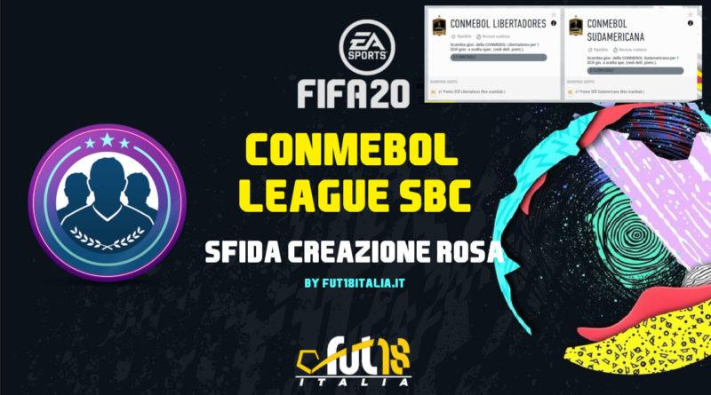 FIFA 20: Conmebol league SBC