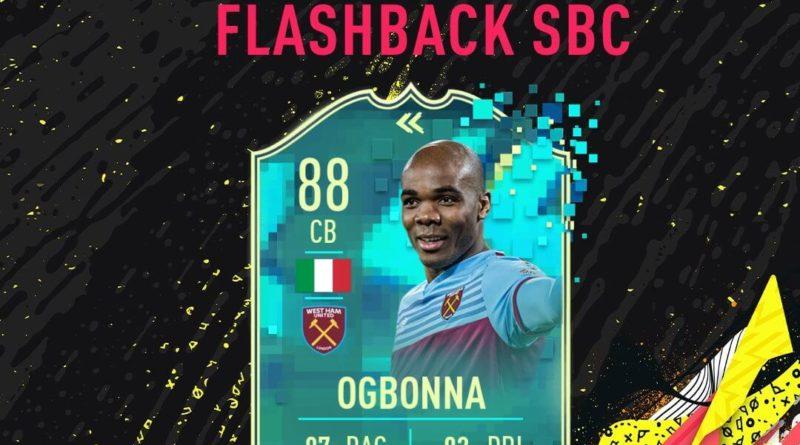 FIFA 20: Ogbonna flashback SBC