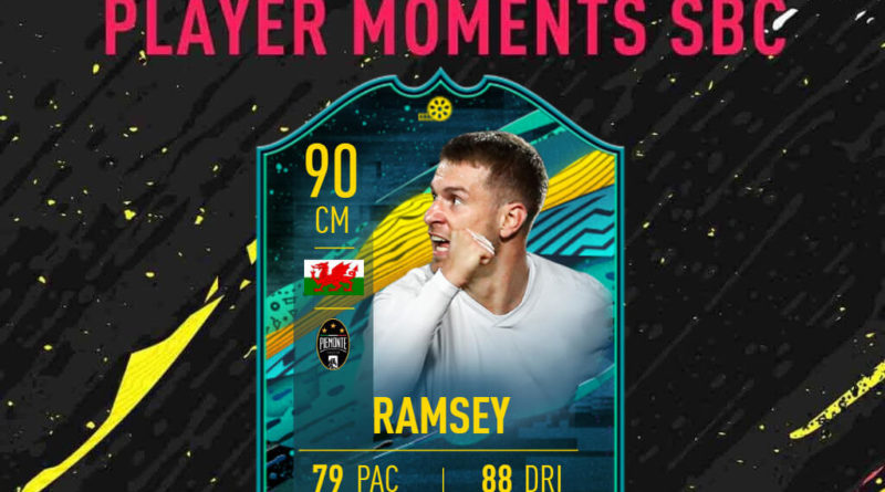 FIFA 20: Ramsey Player Moments SBC