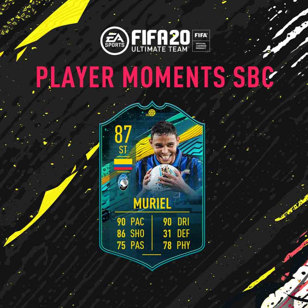 FIFA 20: SCR Muriel player moments
