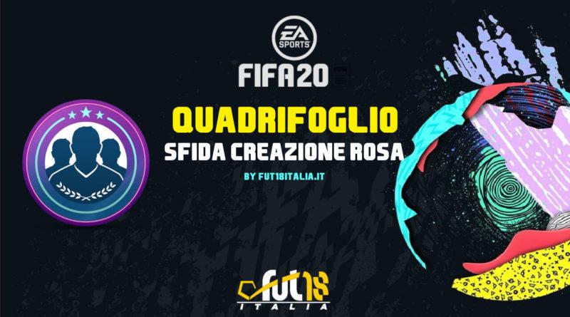 FIFA 20 - SCR quadrifoglio: requisiti, premi e soluzioni