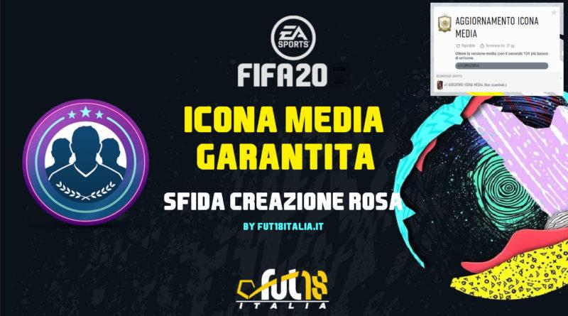 FIFA 20: SBC Icon medium garantita
