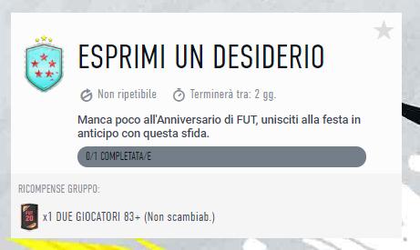 FIFA 20: SCR esprimi un desiderio