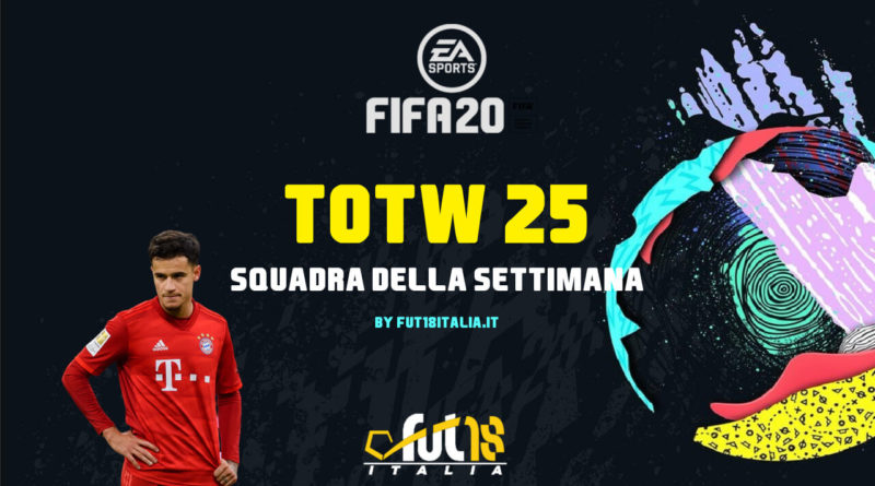 FIFA 20: Team of the Week 25