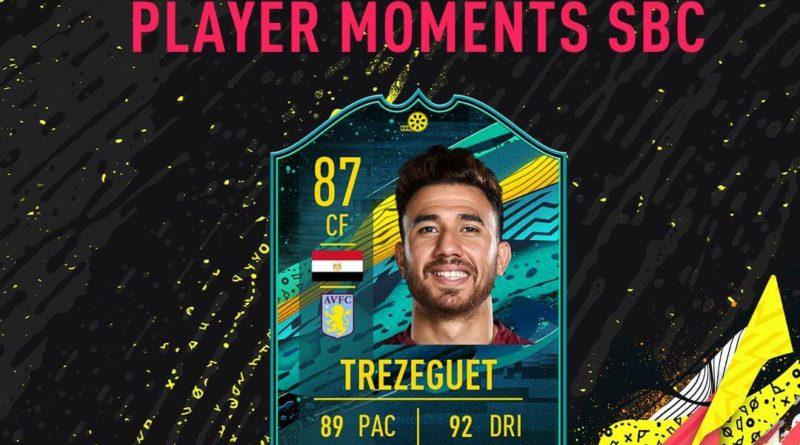 FIFA 20: Trezeguet player moments SBC