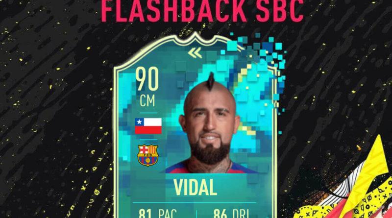 FIFA 20: Vidal flashback SBC
