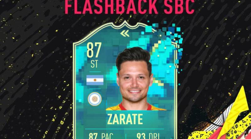 FIFA 20: Zarate flashback SBC