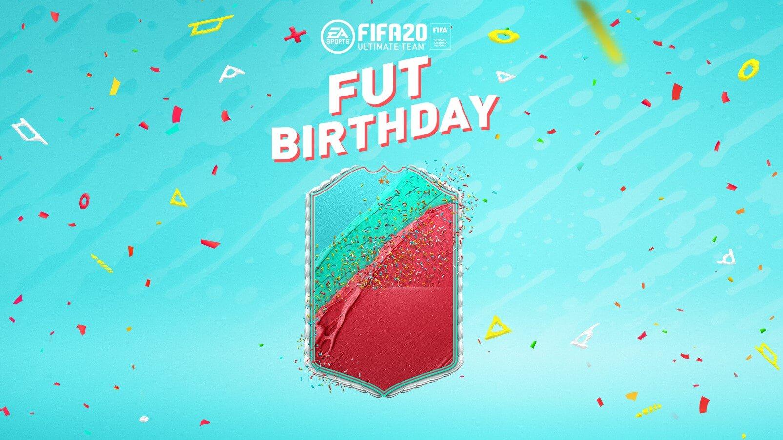 FIFA 20: FUT Birthday design ufficiale delle card