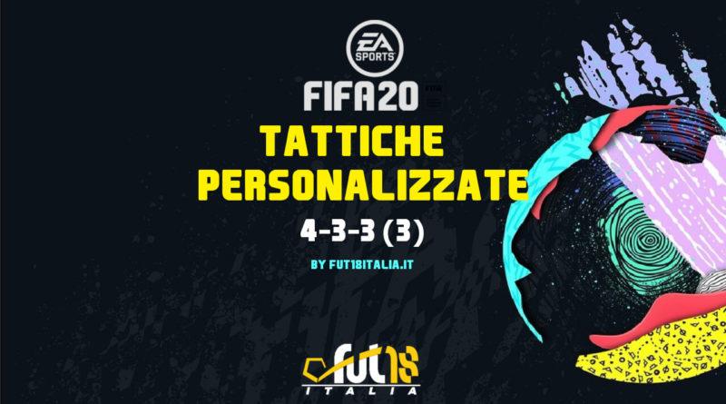 FIFA 20: tattiche personalizzate per il 4-3-3 (3)