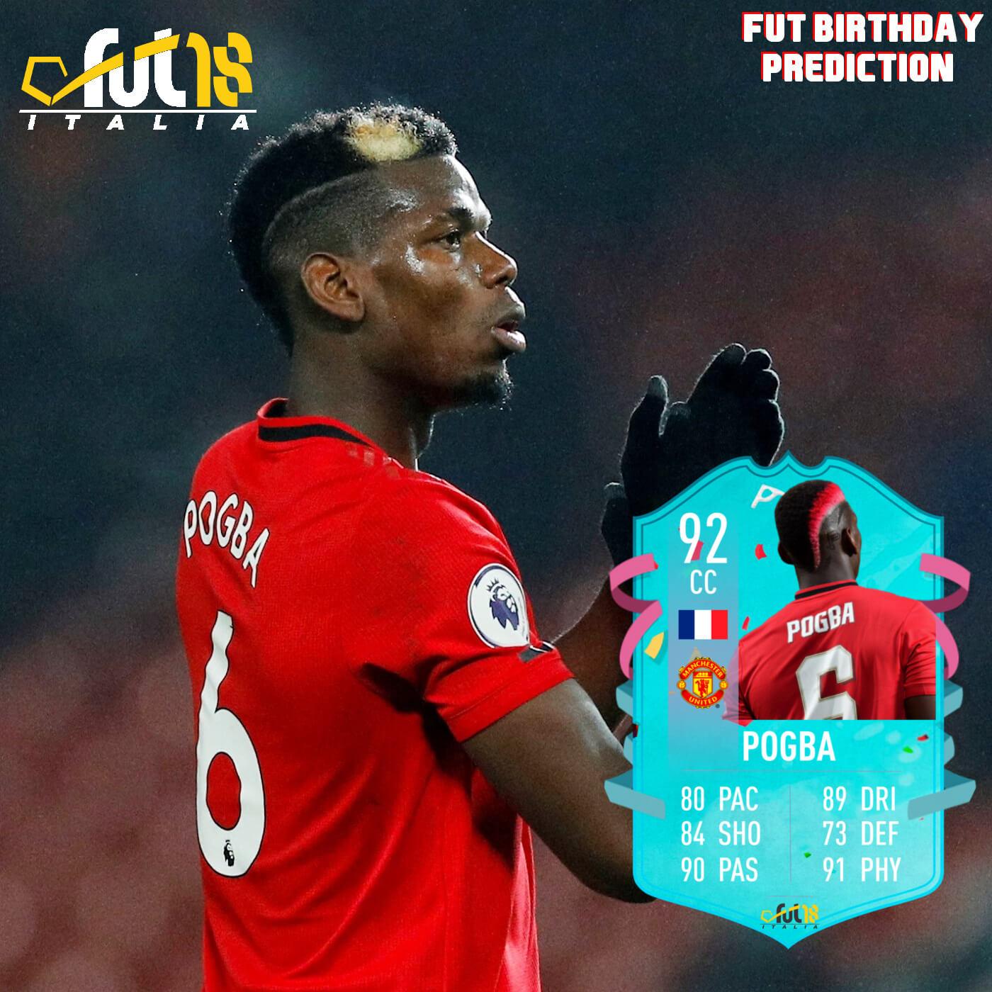 FIFA 20: Pogba FUT birthday prediction