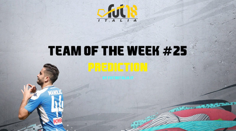 FIFA 20: Team of the Week 25 prediction