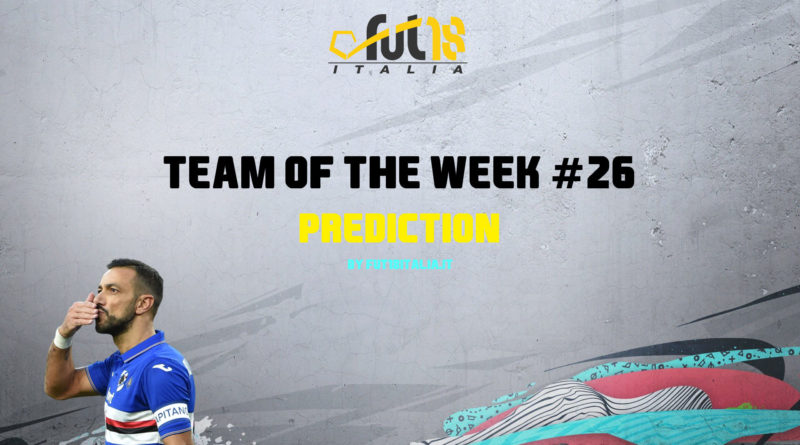 FIFA 20: Team of the Week 26 prediction