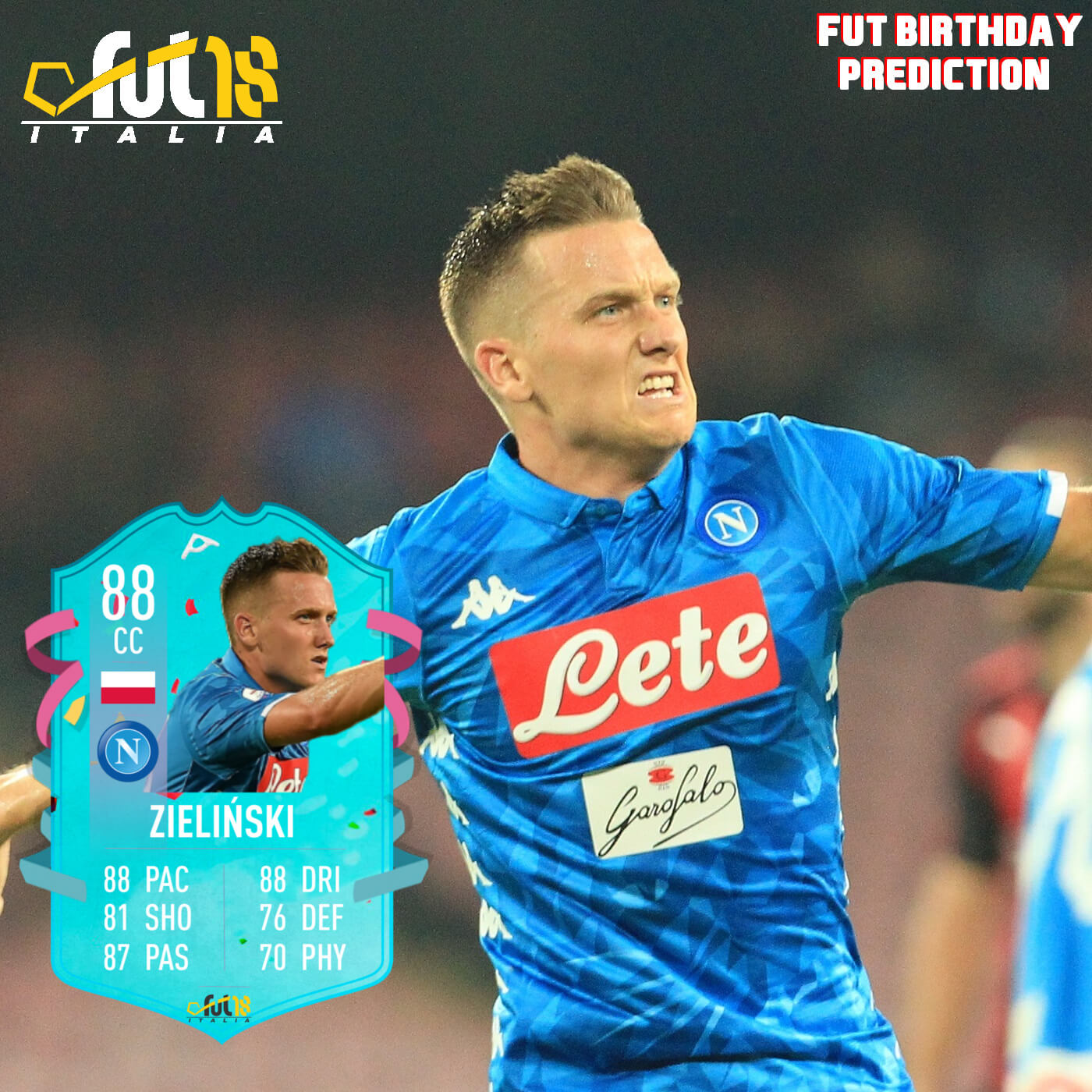 FIFA 20: Zielinski FUT birthday prediction