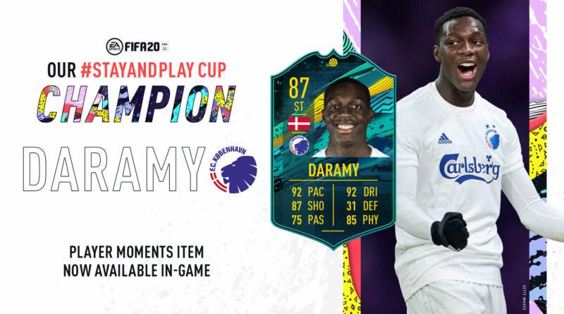 FIFA 20: Daramy Player Moments SBC