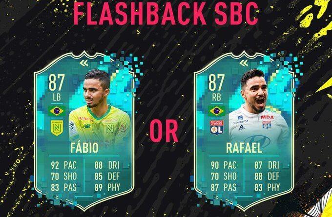 FIFA 20: Fabio e Rafael flashback SBC