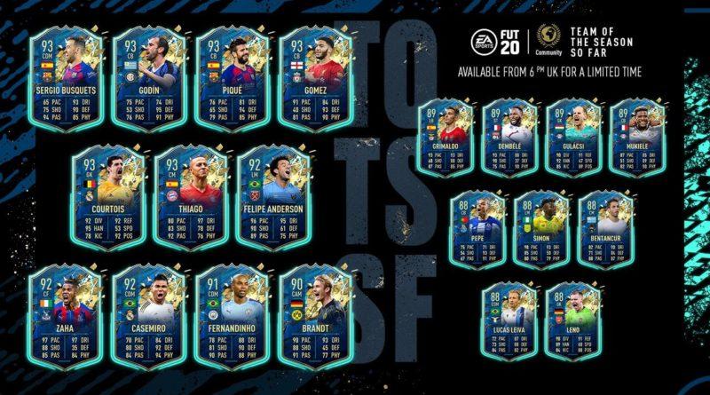 FIFA 20: Community TOTSSF