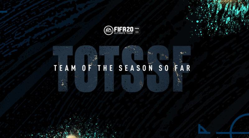 FIFA 20: TOTSSF - Team of the Season so far
