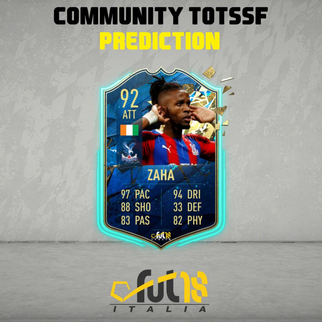 FIFA 20: Zaha TOTSSF community prediction