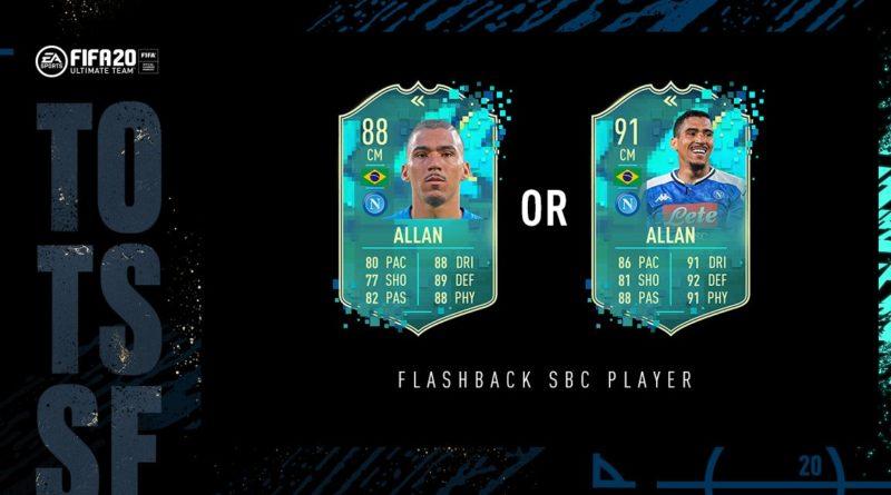 FIFA 20: Allan TOTSSF flashback premium SBC