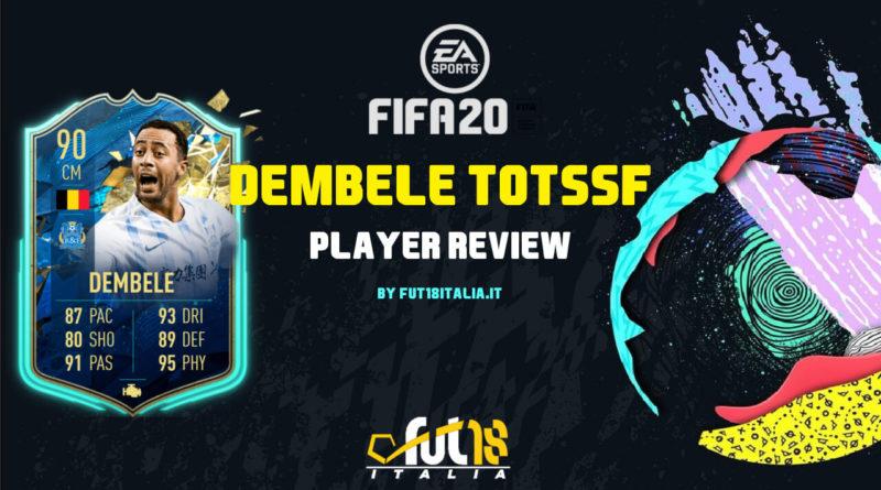 FIFA 20: Dembélé CSL TOTSSF SBC review