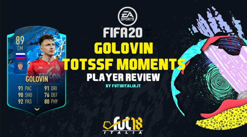 FIFA 20: Golovin TOTSSF Moments player review