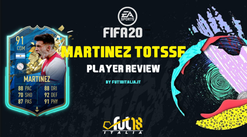 FIFA 20: Lisandro Martinez TOTSSF player review