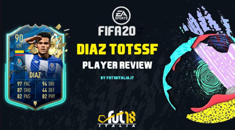 FIFA 20: Luis Diaz TOTSSF review
