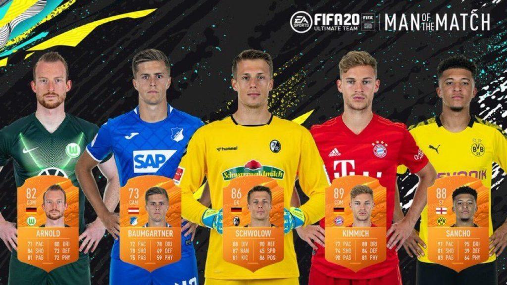 FIFA 20: MOTM Bundesliga del 3 giugno
