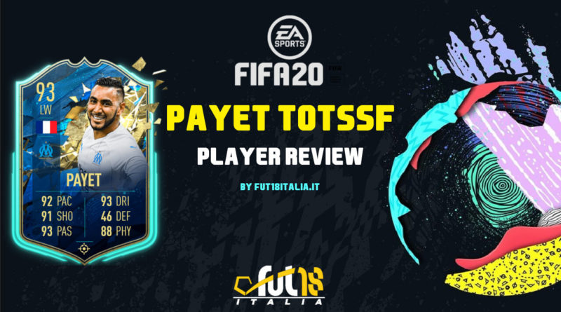 FIFA 20: Payet TOTSSF SBC player review
